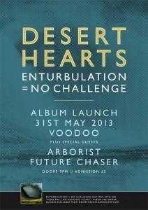 Desert Hearts album launch