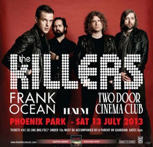 Killers Phoenix Park