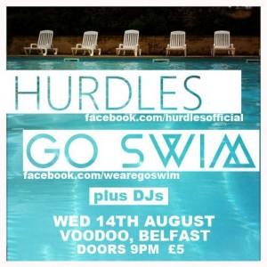 hurdles go swim