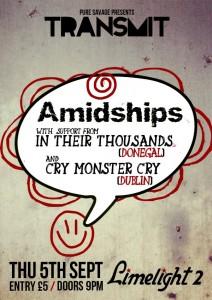 Amidships transmit
