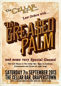greased palm cellar show