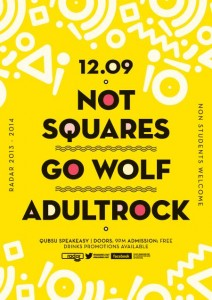 Radar not squares go wolf adultrock