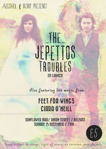The Jepettos EP launch