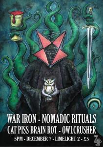 war iron nomadic rituals etc