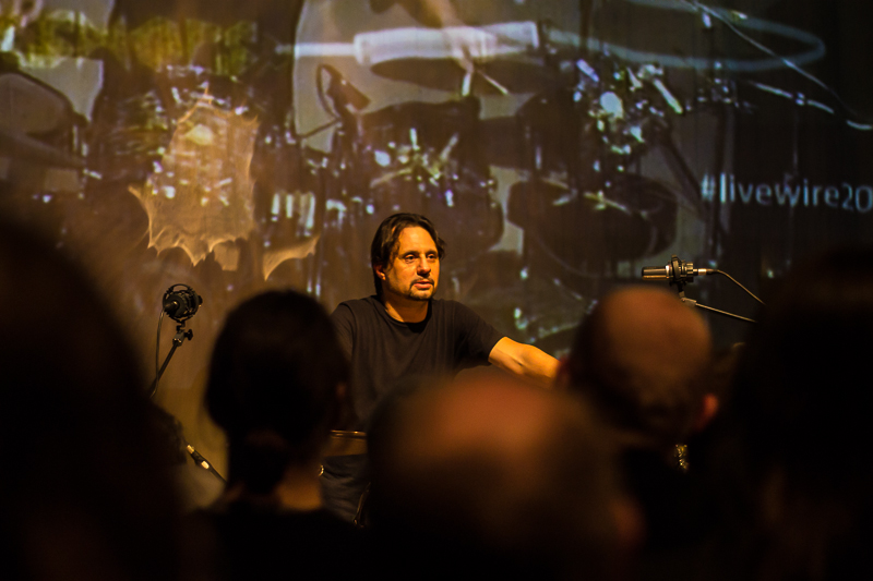 Dave Lombardo Drum Clinic