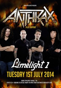 anthrax limelight