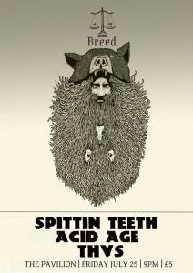 breed spittin teeth