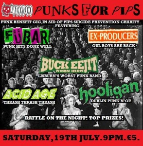 pips punk charity show