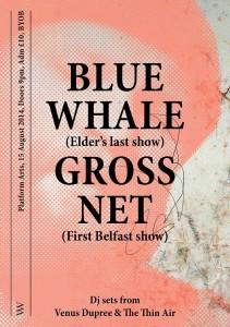 blue whale elder's last show