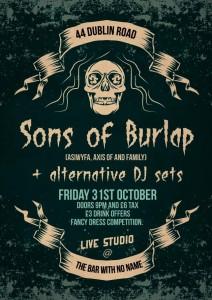 sons of burlap halloween