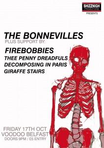the bonnevilles with fire bobbies etc