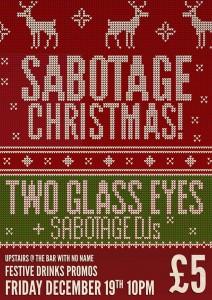 sabotage xmas