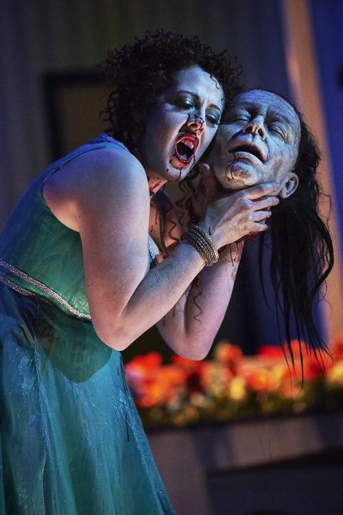 Giselle Allen as Salome NI Opera 3