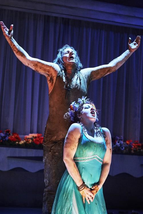 Giselle Allen as Salome, Robert Hayward as Jokanaan, NI  Opera