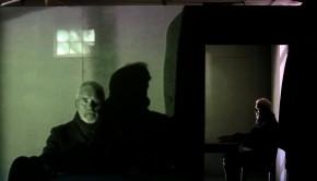John McVitty Photography-07771987378 ''Stirrings Still'' by Samuel Beckett. Actor Ian McIlhinney and Netia Jones, director.