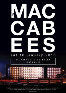 THE MACCABEES DUB.indd