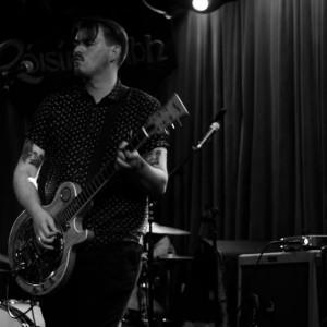 Myself, playing The Róisín Dubh last summer. Photo Credit Vincent Hughes