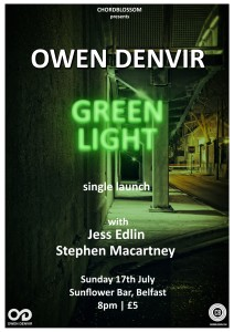 owen denvir - green light single launch