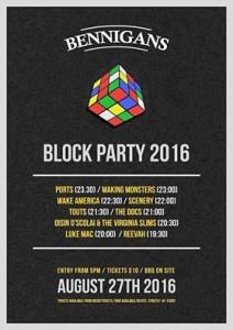 Bennigans block party