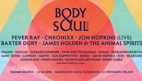 Body&Soul 2018 First Announcement Landscape