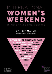 International Womens Day Weekend Poster (small)