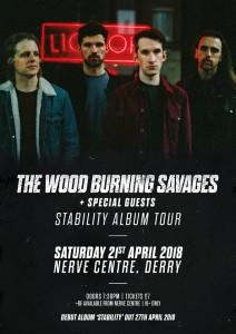 wood burning savages derry