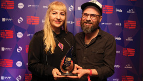"""The Choice Music Prize Ð Irish Album of the Year 2017 Winner Ships have just been announced as the winner of the RTƒ Choice Music Prize Ð Irish Album of the Year 2017 for the album 'Precession' (Ships Music). They received a cheque for Û10,000 - a prize which has been provided by the Irish Music Rights Organisation (IMRO) and the Irish Recorded Music Association (IRMA) - as well as a specially-commissioned award. The jury panel of Irish music media professionals deliberated at length tonight and chose the album from the shortlist of 10 records released by Irish artists throughout 2016. The sold-out event in Vicar St, Dublin featured live performances by 9 of the album shortlisted acts. The event was hosted by 2FMÕs Eoghan McDermott and was broadcast live in a special broadcast on 2FM. Additionally, the RTE Choice Music Prize Irish Song Of The Year 2017 was awarded to Chasing Abbey for the song """"That Good Thing"""". TV highlights of the show can be seen on RTE2, Sunday 18th March at 11pm. Information from Liza Geddes, Recode Publicity lizageddes@gmail.com  No repro fee / photo: Graham Keogh  http://www.choicemusicprize.ie http://2fm.rte.ie/ http://www.rte.ie/ http://twitter.com/choiceprize"""