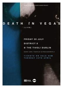 Death In Vegas Dublin Artwork
