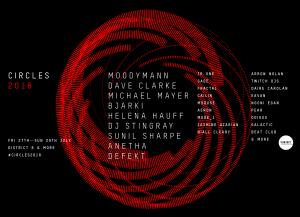 Circles Full Lineup 2018 FB Cover