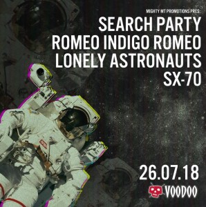 Search Party 26_07_18 Event Poster