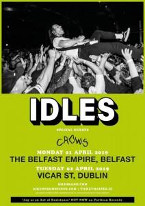idles tour