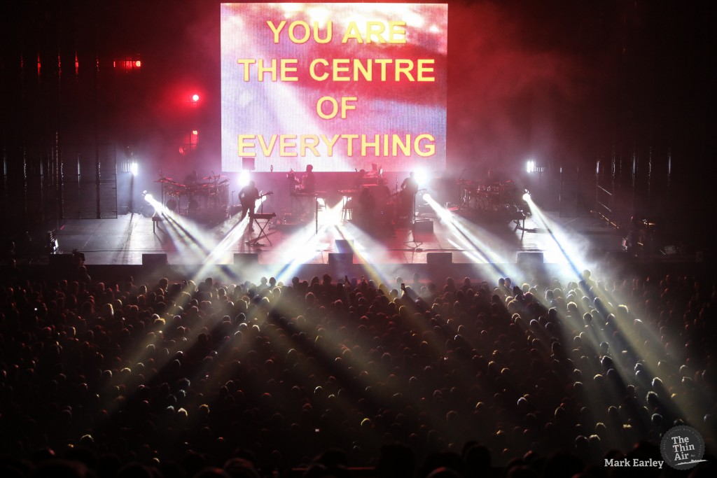 Massive Attack photographed by Mark Earley for The Thin Air on February 24th, 2019