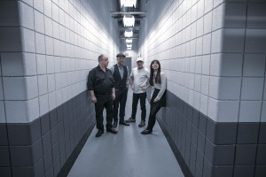 From Left:  Black Francis, Joey Santiago, David Lovering, Paz Lenchantin