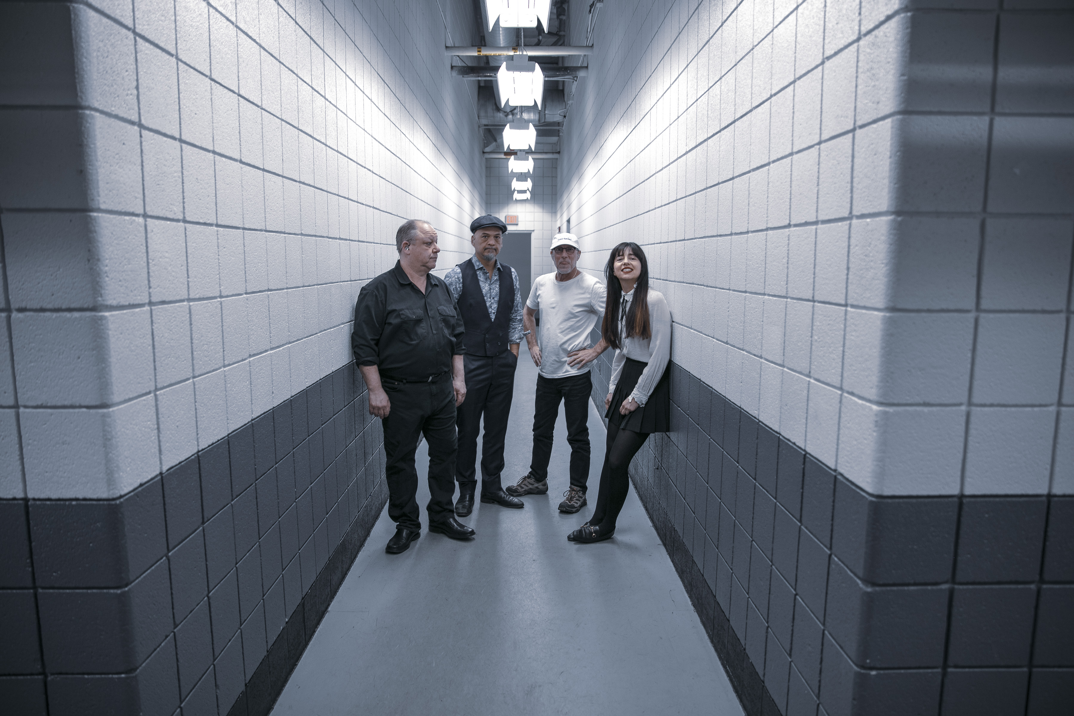 From Left: Black Francis, Joey Santiago, David Lovering, Paz Lenchantin