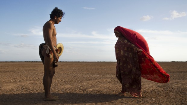 The courtship ritual between Rapayet (José Acosta) and Zaida (Natalia Reyes) sets a tone for Birds of Passage that this is no ordinary organized-crime dram