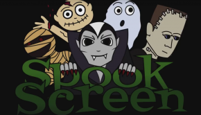 Spook Screen Logo