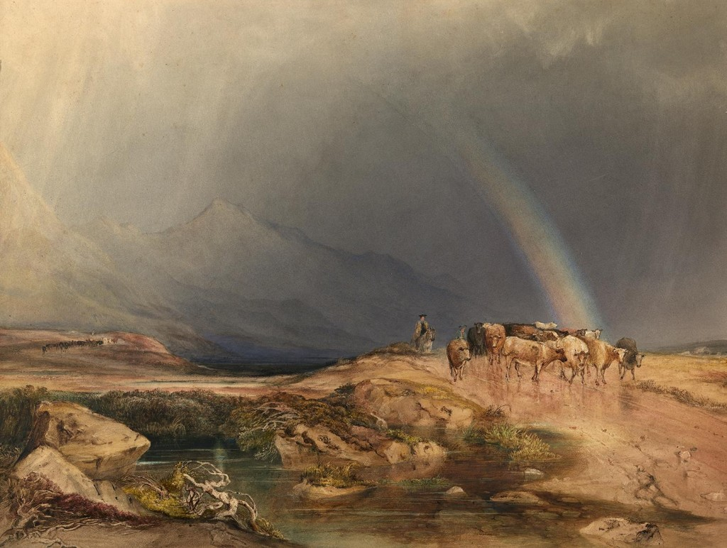 Anthony Copley Fielding (1787-1855), A Rain Shower in the Scottish Highlands. Photo © National Gallery of Ireland