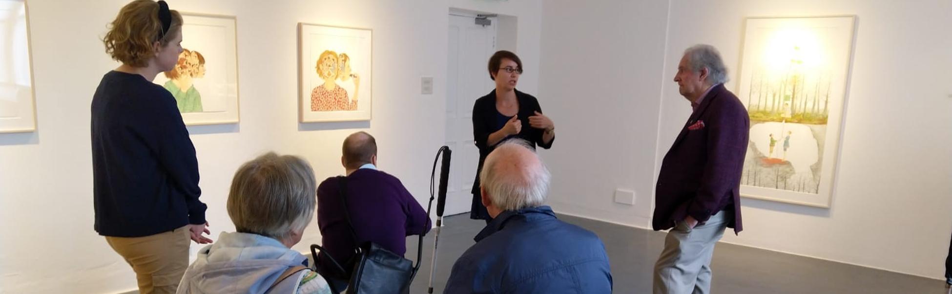 Audio-described-tour-of-Amy-Cutler-at-Butler-Gallery-